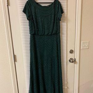 Avant Garde Emerald Gown